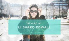 Styled by Li Svärd Edwall. #streetstyle #jewelry #sunglasses #Moschino #TheJewelry
