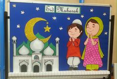 Art ,Craft ideas and bulletin boards for elementary schools: Bulletin Board on Eid