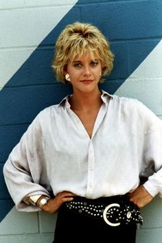 Young Meg Ryan in a White Butt... is listed (or ranked) 12 on the list 18 Pictures of Young Meg Ryan