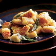 Pan-Seared Gnocchi with Browned Butter & Sage - FineCooking
