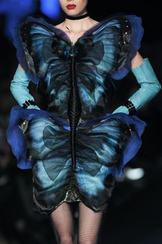 Jean Paul Gaultier Couture Spring Summer 2014   Paris Fashion Week