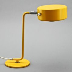 Anders Pehrson; Chromed and Enameled Metal 'OS-Lampan' Table Lamp for Ateljé Lyktan, 1970s.