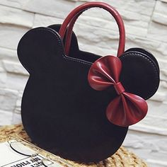 Kate Spade and Betsey Johnson may have been the real pioneers behind the kitschy purses. Minnie Mouse Stickers, Mickey Mouse Crafts, Mickey Mouse Outfit, Disney Handbags, Disney Purse, Burberry Handbags, Chanel Handbags, Cute Backpacks, Cute Purses