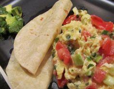 Scrambled Egg Fajitas