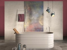 tub Porcelain stoneware wall tiles DO UP by ABK Industrie Ceramiche