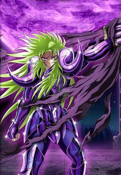 Aries Shion (Spectrum) - Saint Seiya Cosmo Slotte by FernanDohko Saint Seiya Lost Canvas, Knights Of The Zodiac, Golden Warriors, Green Lantern Corps, Card Captor, Anime Japan, Comic Movies, In Ancient Times, Gold Art