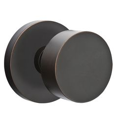 Round Knob with Disk Backplate - | Rejuvenation