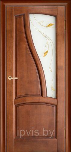 Двери межкомнатные Рафаэль махагон насыщенный (Вилейка) в г. Гомель. Отзывы. Цена. Купить. Фото. Характеристики.