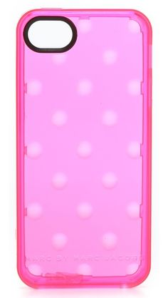 Marc by Marc Jacobs Jelly Dots iPhone 5 Case - omg I am such a fan
