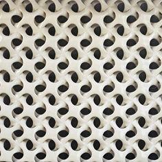 Cool #texture and #design #pattern 3d Pattern, Tile Patterns, Textures Patterns, 3d Mesh, Metal Mesh, Print Design, Logo Design, 3d Wall Panels, Texture