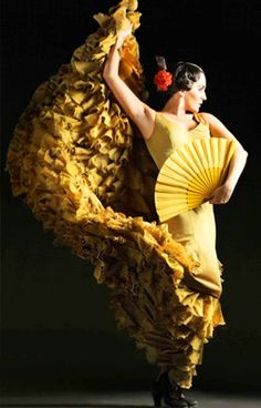 Yellow | Giallo | Jaune | Amarillo | Gul | Geel | Amarelo | イエロー | Kiiro | Colour | Texture | Style | Form | Pattern | flamenco dancers
