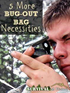 5 More Bug-Out Bag Necessities | Survival at Home | #prepbloggers #bugout #gear