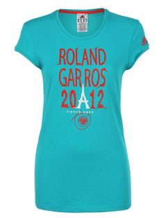 48a112ace07 adidas Women's Roland Garros 2012 Tee - medium Roland Garros, Tennis  Warehouse, Tennis Gear