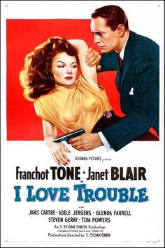 I Love Trouble - USA (1948) Director: S. Sylvan Simon