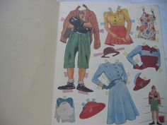 Charlie Chaplin and Paulette Goddard paper doll clothes / eBay