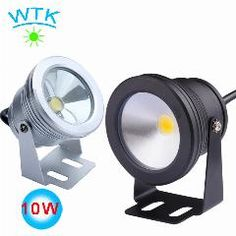 Underwater Led Lights For Pool 10w Led Flood Light Silver Shell Rgb Waterproof Ip68 Fountain Underwater Led Lamp Led Lamps Led Underwater Lights