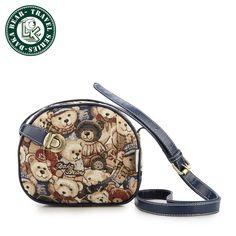 DAKA BEAR Fashion Women Canvas Bags Mini Girls Messenger Bag Vintage Shoulder bag Casual Satchel