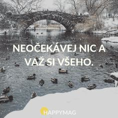 proto neplánuju a na nic se netěším Yoga Quotes, Me Quotes, Motivational Quotes, Inspirational Quotes, Useful Life Hacks, English Quotes, Carpe Diem, Motto, Live Life