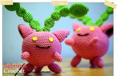 Hoppip Pokemon Free Amigurumi Crochet Pattern