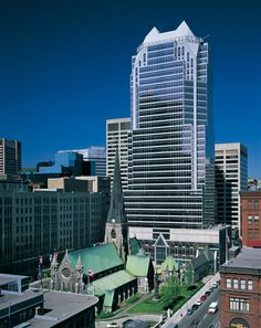 La #Tour #KPMG - Centre Ville de Montréal. |