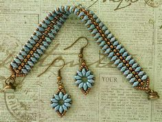 Linda's Crafty Inspirations: Earrings to go with the ...