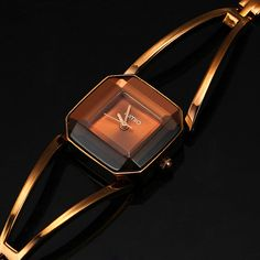 New Arrival KIMIO Luxury Women's Quartz  Watches Waterproof Stainless Steel Hollow Square Bracelet Ladies Watches montre femme-in Fashion Watches from Watches on Aliexpress.com | Alibaba Group