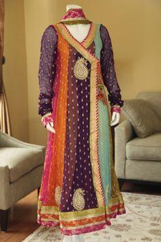 Angrakha Style Dress Designs