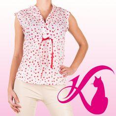 Dieses figurbetonte Shirt wird am besten mit einer knappen Shorts oder leichten Sommerhose kombiniert. | Ital-Design.de - 4,99 Euro #katzenberger