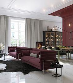 Enhance Your Senses With Luxury Home Decor Modern Interior Design, Interior Design Living Room, Living Room Decor, Decoration Inspiration, Interior Inspiration, Luxury Apartments, Luxury Homes, Cute Home Decor, Formal Living Rooms