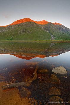 Loch Etive sunset