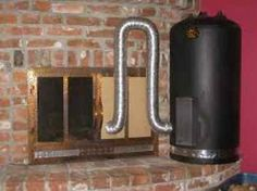 Off The Grid Living – Rocket Stove Household Water Heater If you don't already have an indoor wood burning stove that heats your water, this is a great way