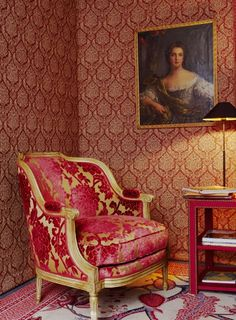 Pierre Frey fabrics & Braquenié carpet