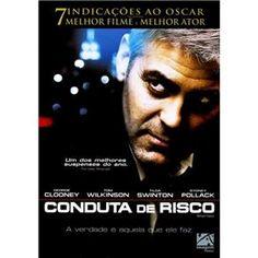 Dvd - Conduta De Risco