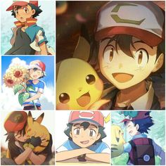 ♕Ash  Pokémon♕  Aesthetic by me (Acia).