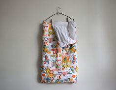 Vintage Baby Sleeper. Children Sleeping Bag With Zip. Raggedy Ann Andy Dolls Alphabet. 60s 70s Nursery Baby Room Decor. Vintage Bedding by BlanketsAndCie on Etsy