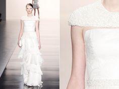 Veja inspirações para vestidos de noiva do SPFW verão 2014 - Notícias - Noivas GNT