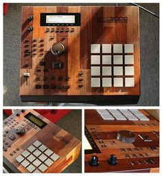 Wooden case MPC 2000