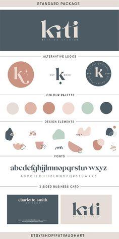 Corporate Identity Design, Visual Identity, Brand Identity Design, Logo Branding, Branding Ideas, Ok Design, Brand Design, Vintage Logo, Custom Logo Design