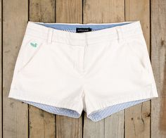 The Brighton Chino Short in White by Southern Marsh