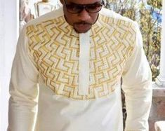 African Male Suits, African Shirts For Men, African Attire For Men, African Clothing For Men, African Men Fashion, African Clothes, Dashiki For Men, African Dashiki, Wedding Suit Styles