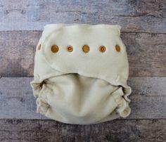 One Size Wool Diaper Wrap Organic One Size by LovelyLyraOrganics