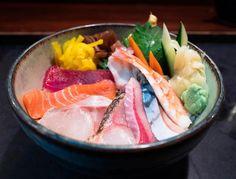 Chirashi at Cafe Sushi in Cambridge MA! #sushi #food #foodporn #japanese #Japan #dinner #sashimi #yummy #foodie #lunch #yum