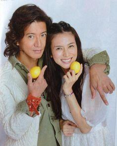 Kimura Takuya X Shibasaki Kou Takuya Kimura, Japanese Drama, Actresses, Nihon, Celebrities, Destiny, Faces, Hero, Asian