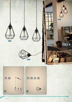 Trend & Vintage 2019 Ceiling Lights, Vintage, Home Decor, Light Design, Decoration Home, Room Decor, Ceiling Lamp, Vintage Comics, Ceiling Fixtures