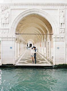 Photography: Matthew Ree - www.matthewree.com  Read More: http://www.stylemepretty.com/destination-weddings/2015/02/24/venice-boudoir-anniversary-shoot/