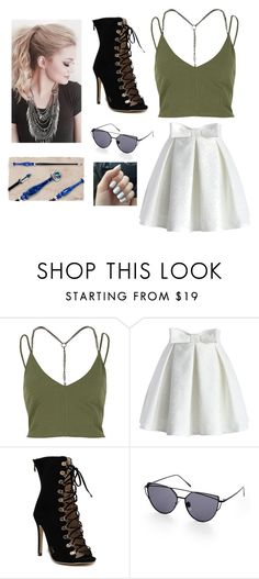 """Shopping"" by normal-chick ❤ liked on Polyvore featuring River Island and Chicwish"