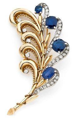 Art Deco, Art Nouveau jewelry