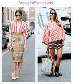 mixing patterns fashion - Google Search