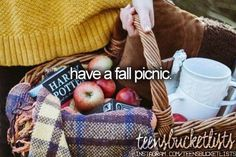 have a fall picnic