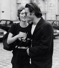 Kate Moss with Mario Sorrenti, 1990s